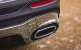 Mercedes-Benz GLB 2020 road test review - exhausts
