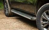 Mercedes-Benz X-Class road test review side sills