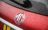 MG 5 SW EV 2020 Road test review - rear badge