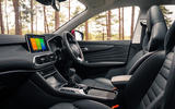 MG HS 2019 road test review - cabin