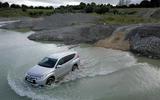 Mitsubishi Shogun Sport 2018 road test review wading