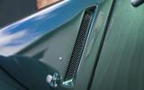 Morgan Plus Six 2019 road test review - side vents