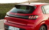 Peugeot 208 2020 road test review - rear end