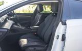 Peugeot 508 SW Hybrid 2020 road test review - cabin