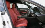 Peugeot 508 SW 2019 review - front seats
