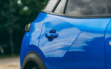 Peugeot e-2008 2020 road test review - side panels