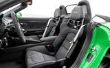 Porsche 718 Boxster GTS 4.0 2020 road test review - seats