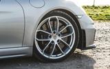 Porsche 718 Spyder 2020 road test review - alloy wheels