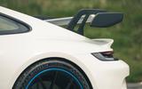 8 Porsche 911 GT3 2021 RT rear spoiler