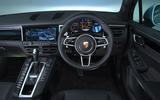 Porsche Macan 2019 road test review - dashboard