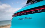 Porsche Macan Turbo 2019 road test review - rear lights