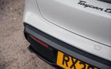 Porsche Taycan 2020 road test review - rear bumper