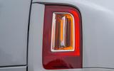 Rolls Royce Cullinan 2020 road test review - rear lights