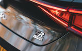 Seat Leon eHybrid 2020 road test review - hybrid badge