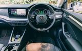 Skoda Octavia Estate 2020 road test review - dashboard
