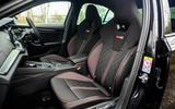 8 Skoda Octavia vRS TDI 2021 road test review cabin