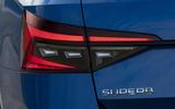 8 Skoda Superb Estate 2021 RT update rear lights