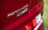Ssangyong Korando 2019 road test review - rear badge