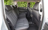 Ssangyong Musso Saracen 4x4 2018 road test review rear seats
