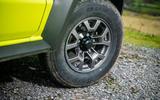 Suzuki Jimny 2018 road test review - alloy wheels