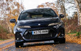8 suzuki swace 2021 uk first drive review on road front