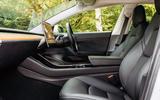 Tesla Model 3 road test - cabin