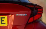 8 Toyota C HR 2021 RT hybrid badge