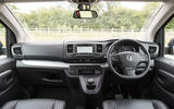 Vauxhall Vivaro Life 2019 road test review - dashboard