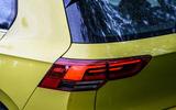 Volkswagen Golf 2020 road test review - rear lights
