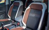 Volkswagen T-Cross 2019 review - front seats