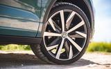Volkswagen T-Roc Cabriolet 2020 road test review - alloy wheels