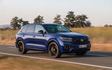 Volkswagen Touareg R road test review - on the road front