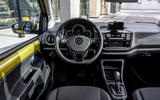 Volkswagen e-Up 2020 road test review - dashboard