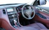 Infiniti EX37 GT interior