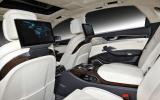 Audi A8 L W12 interior