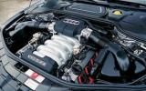 4.0-litre V8 Audi S8 engine