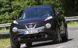 Nissan Juke cornering