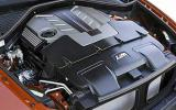 BMW X6 M engine bay