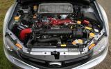2.5-litre Cosworth Impreza STi CS400 engine