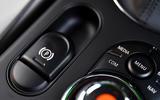 Mini Electric 2020 road test review - parking brake