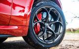 Alfa Romeo Stelvio Quadrifoglio 2019 road test review - alloy wheels
