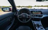 Alpina B3 2020 road test review - steering wheel