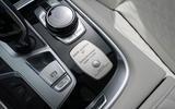Alpina B7 2019 review - centre console