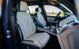 Alpina XB7 2020 road test review - cabin