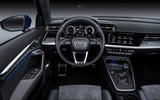 Audi A3 Sportback 2020 road test review - steering wheel