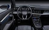 Audi A3 Sportback 2020 road test review - steering wheel