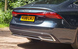 Audi A7 Sportback 2018 road test review rear end