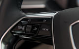 Audi E-tron 55 Quattro 2019 road test review - steering wheel buttons
