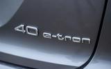 9 Audi Q4 E tron 2021 RT hero rear badge