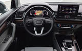 9 audi q5 sportback 2021 first drive review dashboard